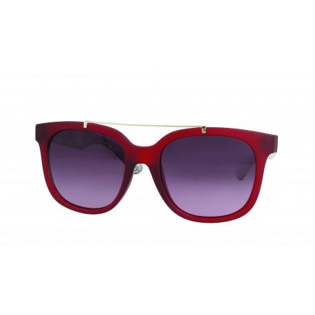 Lunettes de soleil rouge bordeaux femme 6hylc