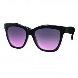 Lunettes de soleil femme noir  verres rose foncé 4b01f6096981