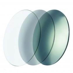 Verres CR39 photochromiques miroités silver