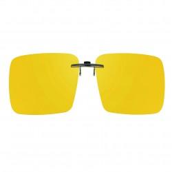 Clip jaune pour monture métal