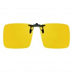 Clip jaune relevable