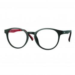 Monture Ultem mat noir/rouge avec clip solaire polarisé