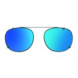 Clip solaire fixe gris miroité bleu