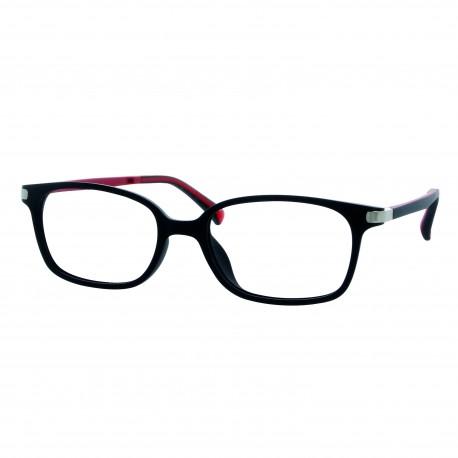 Nouveau Monture enfant noir rouge mat avec 2 clips solaires fa4f87392976