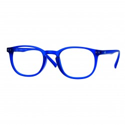 lunettes de lecture panthos bleu mat