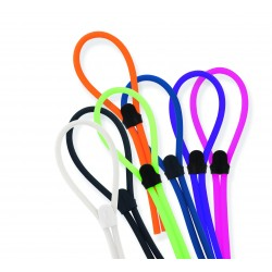 Assortiment cordons ajustables larges silicone