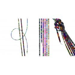 Assortiment cordons multicolores premium 18 pièces