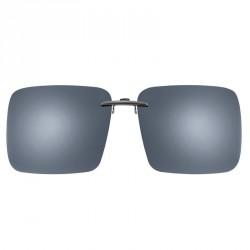 Clips solaires pour formes classiques monture métal taille 66 gris