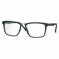Monture noir mat/vert avec clip solaire polarisé