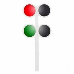 Testeur rouge et vert - Test polarisé