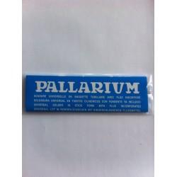 Soudure Pallarium bleue