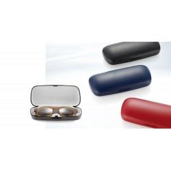Etuis classiques medium noir, bleu, rouge, ivoire, violet et gris (10 pièces)