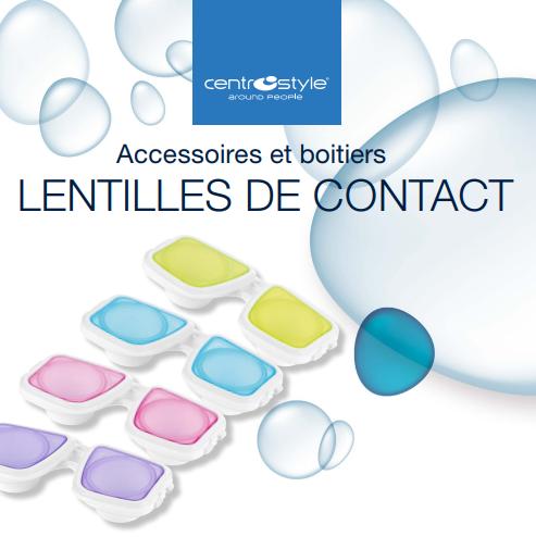 Accessoires et boitiers lentilles de contact
