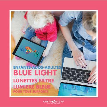 Montures filtre lumière bleue